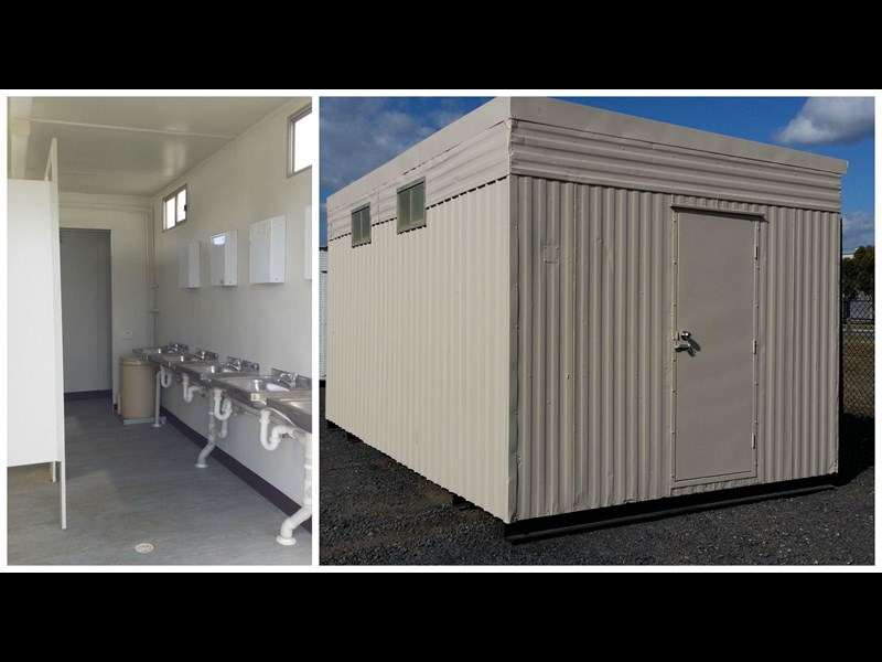 mcgregor 5.5m x 3.3m  toilet block 313378 017