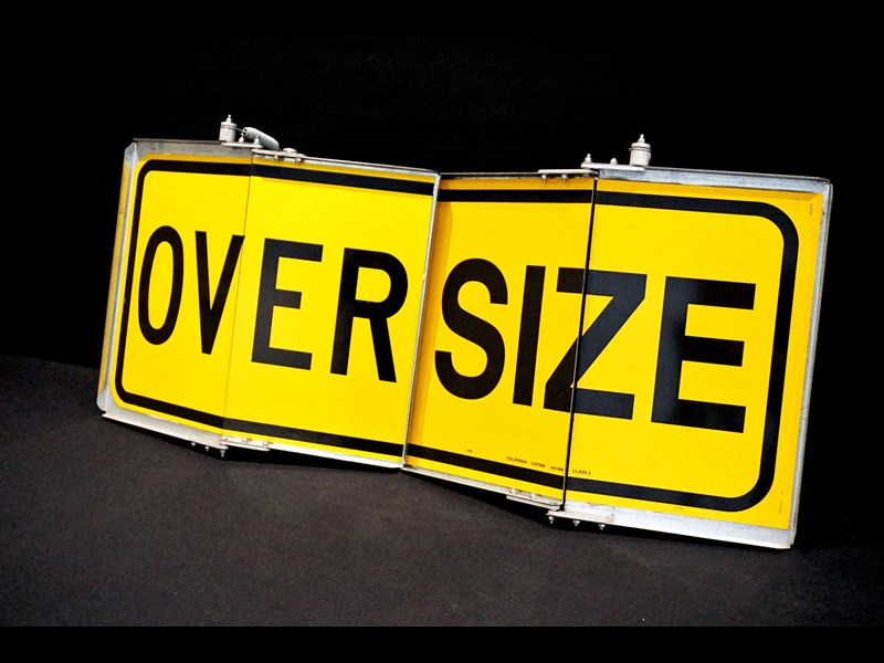 "unknown folding type ""over size"" signs 316124 003"