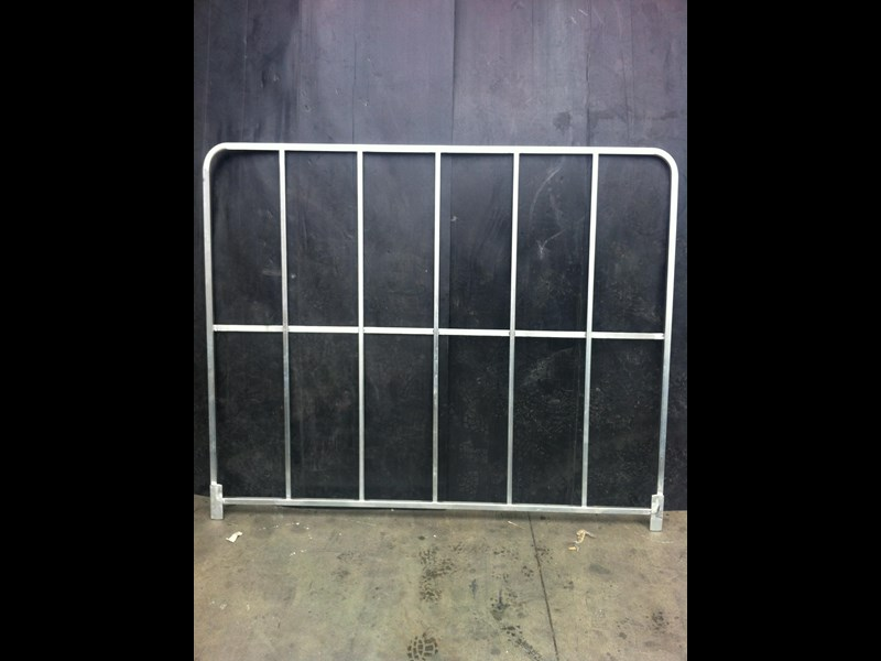 mesh steel freight gates 1500 mm x 1900 mm 316707 003