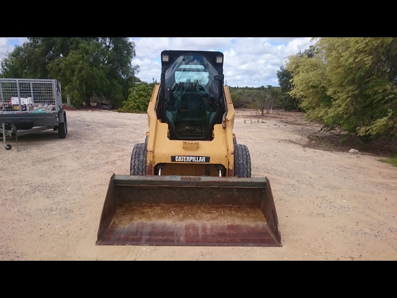 caterpillar 262c skid steer loader 318601 003