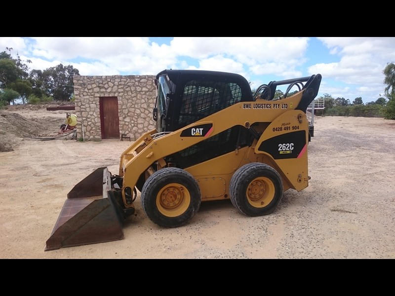 caterpillar 262c skid steer loader 318601 005