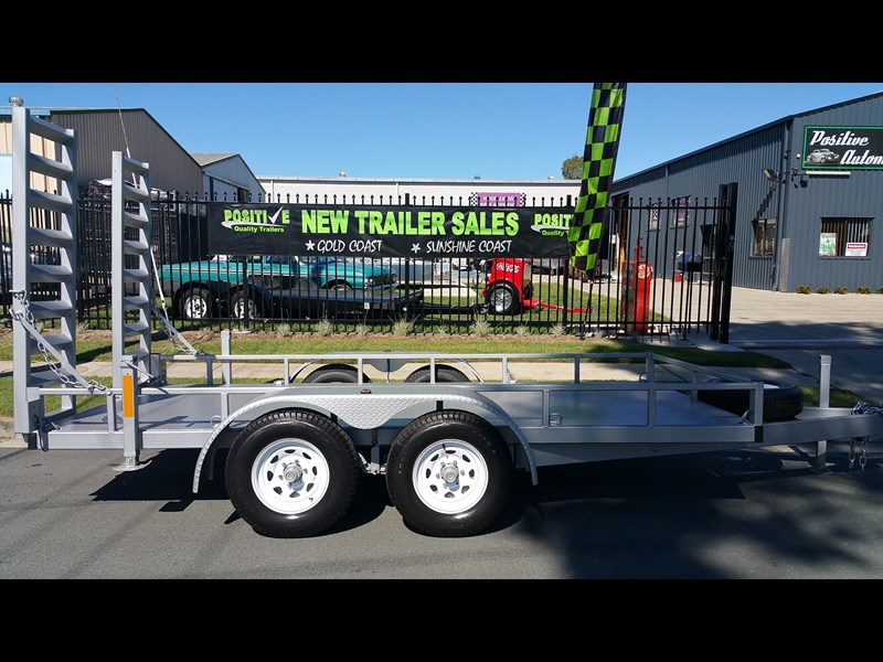 positive quality trailers 14ft 4.5 tonne heavy duty machinery trailer 318959 011