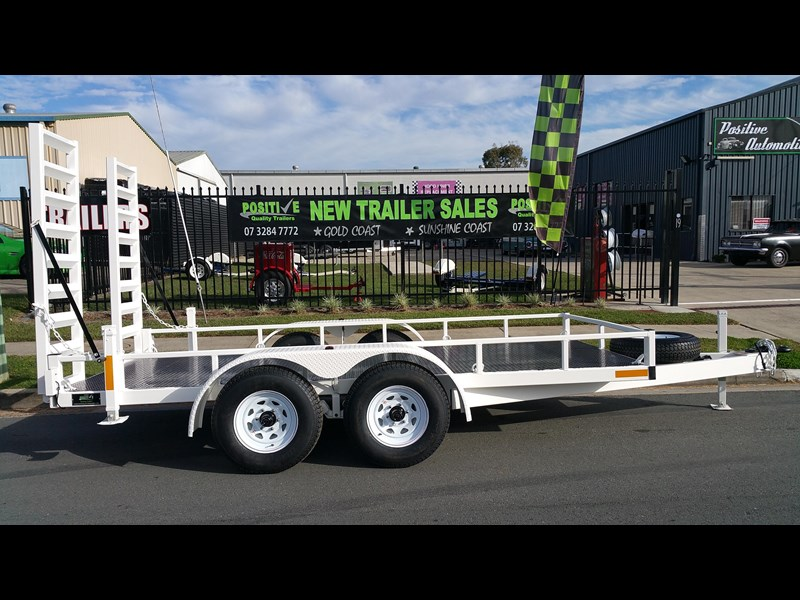 positive quality trailers 14ft 4.5 tonne heavy duty machinery trailer 318959 001