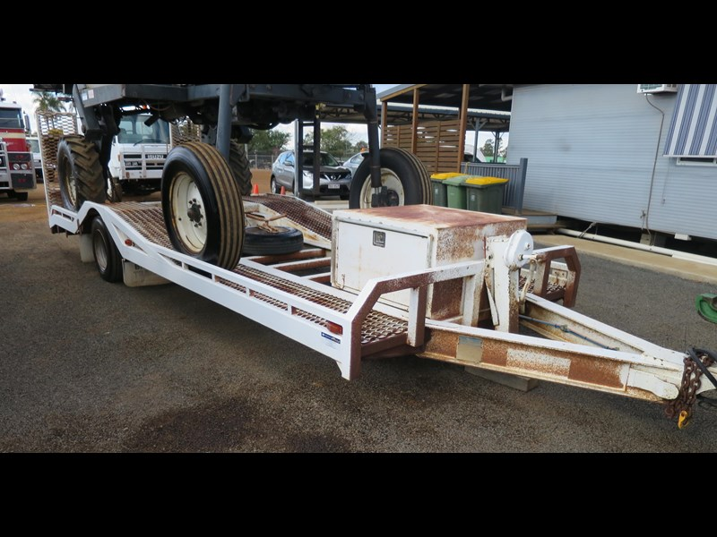 brazier single axle float trailer 320200 003