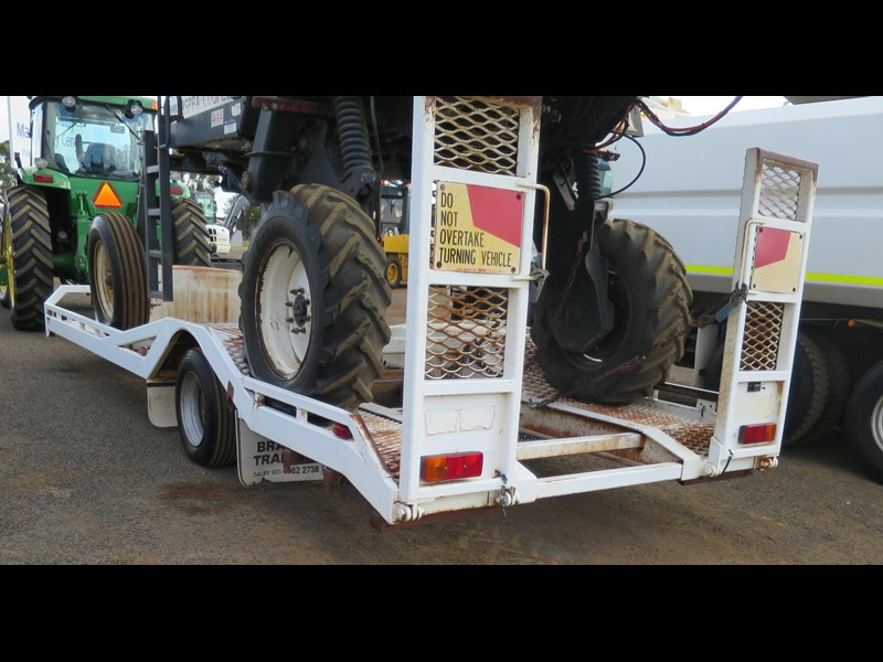 brazier single axle float trailer 320200 009