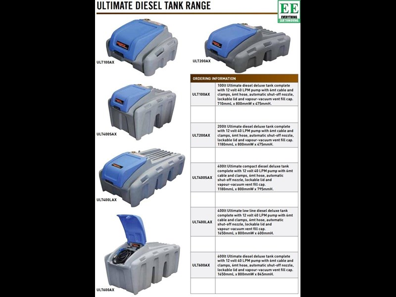 tuff tank 600 ltr steel diesel tanks and pumps 321282 021