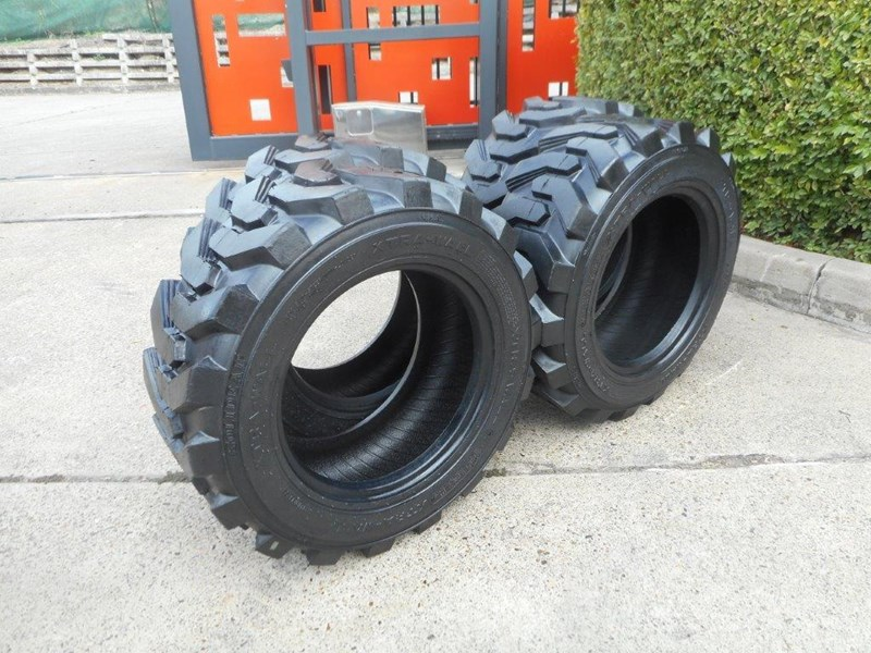 rhino 10-16.5 skid steer loader spare tyres - 10ply xtra side walls [heavy duty] [20kg] suit bobcats loaders [atttyre] 326254 005