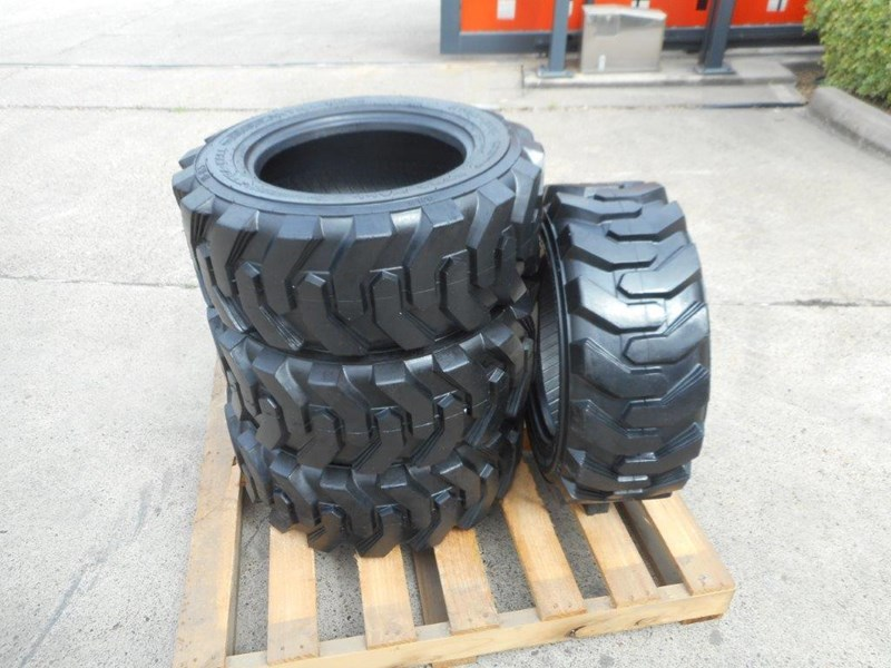 rhino 10-16.5 skid steer loader spare tyres - 10ply xtra side walls [heavy duty] [20kg] suit bobcats loaders [atttyre] 326254 021