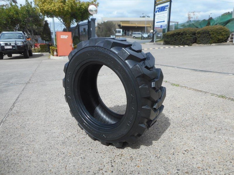 rhino 10-16.5 skid steer loader spare tyres - 10ply xtra side walls [heavy duty] [20kg] suit bobcats loaders [atttyre] 326254 025