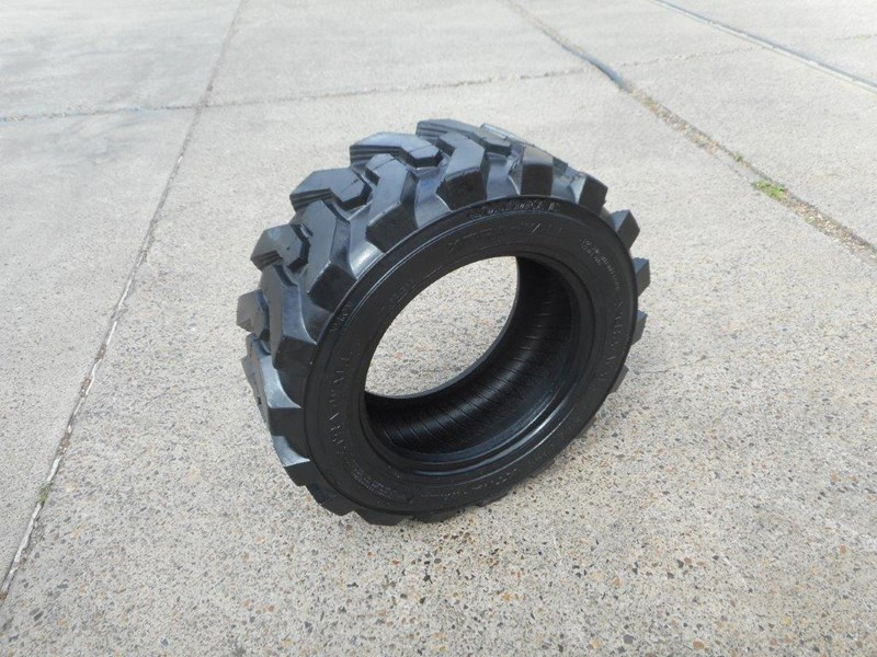 rhino 10-16.5 skid steer loader spare tyres - 10ply xtra side walls [heavy duty] [20kg] suit bobcats loaders [atttyre] 326254 031