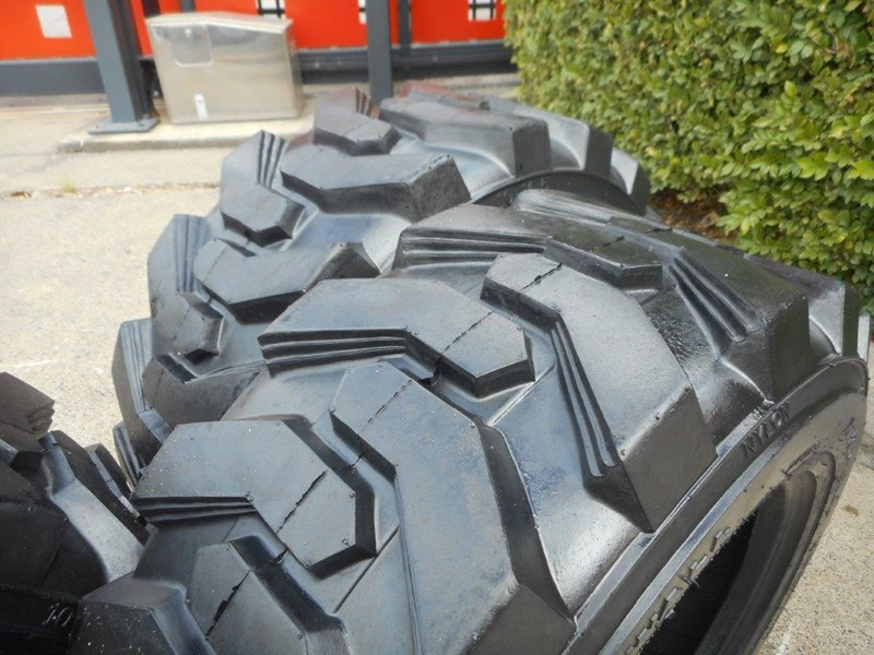rhino 10-16.5 skid steer loader spare tyres - 10ply xtra side walls [heavy duty] [20kg] suit bobcats loaders [atttyre] 326254 045