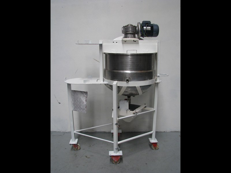 commericial jacketed stainless steel mixing tank bowl mixer - 135l 325086 001