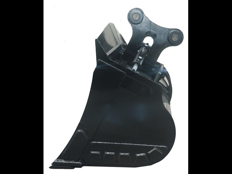 australian bucket supplies tilt bucket fitted w/boe to suit 12-14t excavators 327682 005