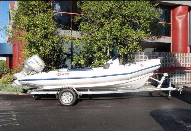 mac mac 420 centre console boat, motor, trailer package 330741 001