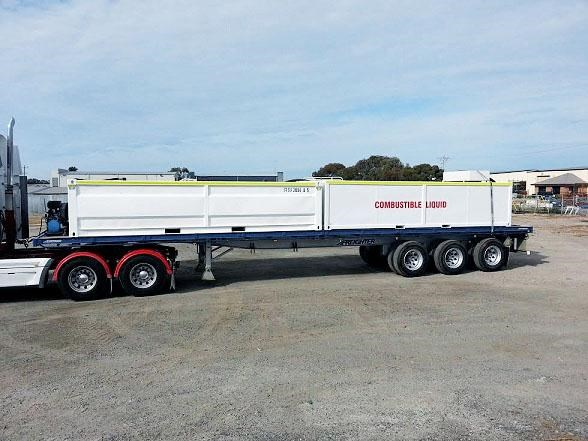 maxitrans 45' triaxle trailer 333419 001