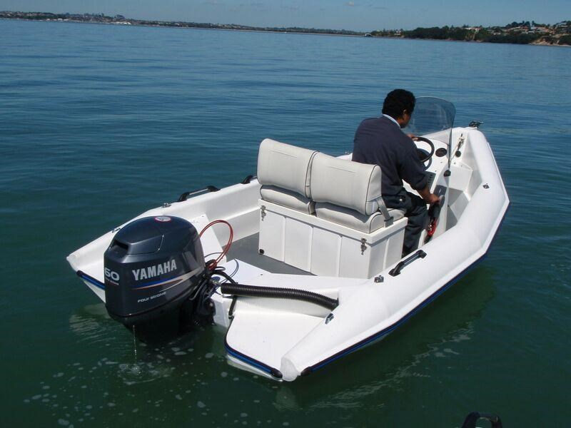 mac mac 420 centre console boat, motor, trailer package 330741 009