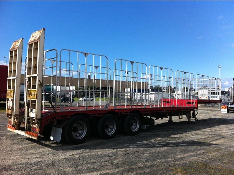 krueger 22 pallet drop deck semi trailer 334976 001