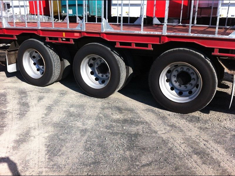 krueger 22 pallet drop deck semi trailer 334976 007