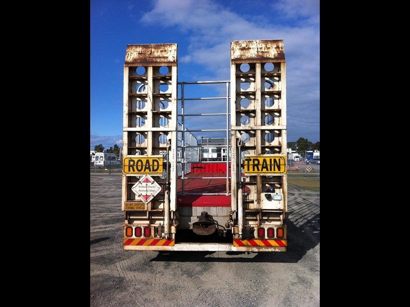 krueger 22 pallet drop deck semi trailer 334976 011