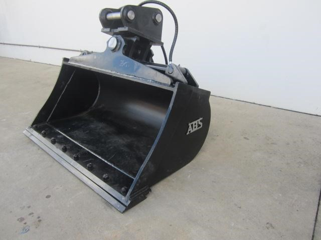 australian bucket supplies tilt bucket fitted w/boe to suit 3-4t excavators 336662 007