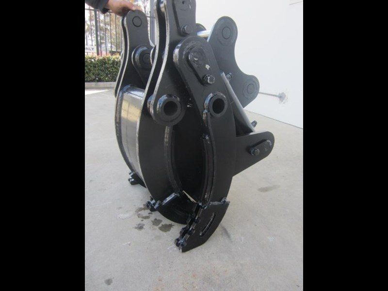 australian bucket supplies hydraulic rock grab to suit 3-4t excavators 336664 005
