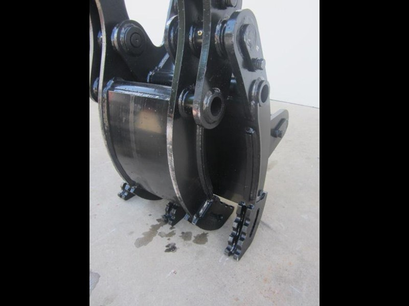 australian bucket supplies hydraulic rock grab to suit 3-4t excavators 336664 009