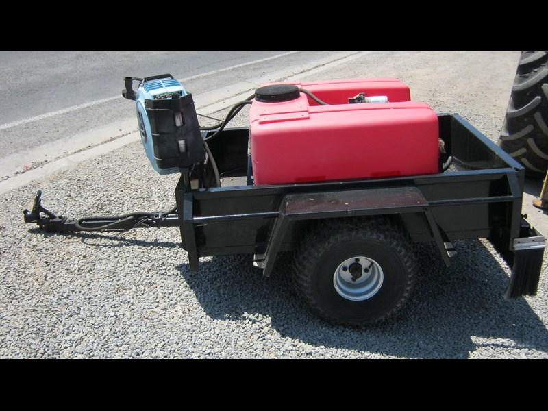 silvan spray unit mounted on trailer 336986 009