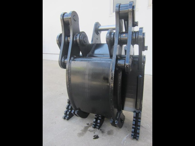 australian bucket supplies hydraulic rock grab to suit 8-10t excavators 337207 007