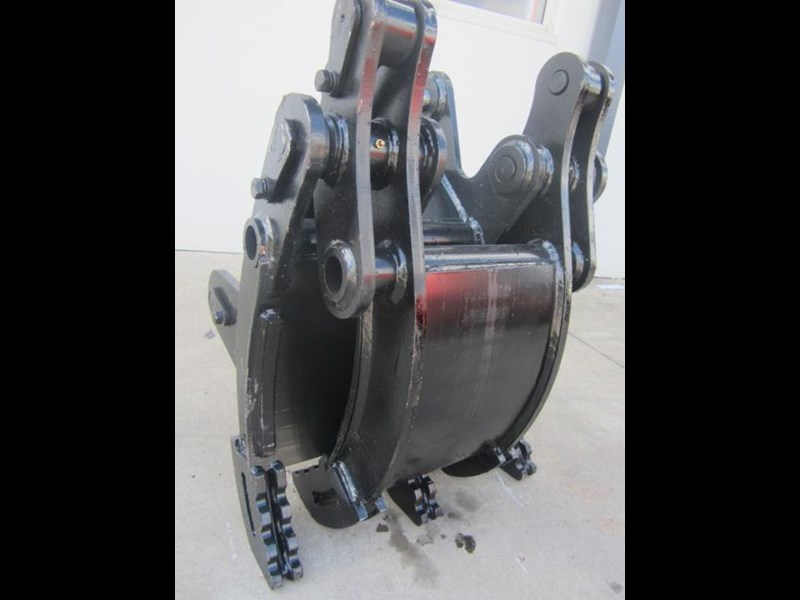 australian bucket supplies hydraulic rock grab to suit 8-10t excavators 337207 009