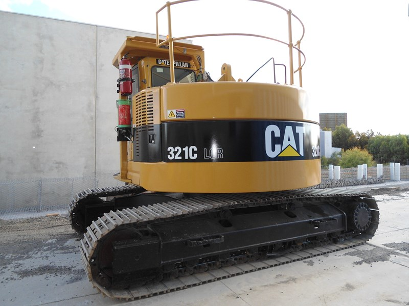 caterpillar cat 321c lcr - zero swing 339021 001