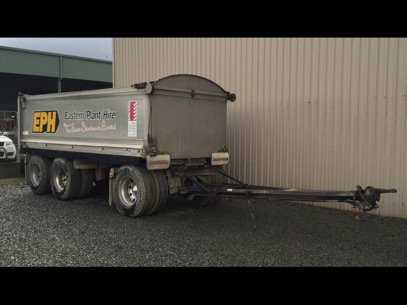 hamelex 3 axle dog trailer 342409 001