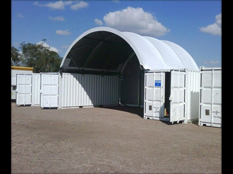 nq trading 40ft igloo container shelter c2040s 343203 001