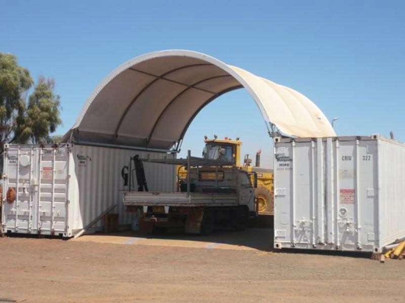 nq trading 40ft igloo container shelter c2040s 343203 005