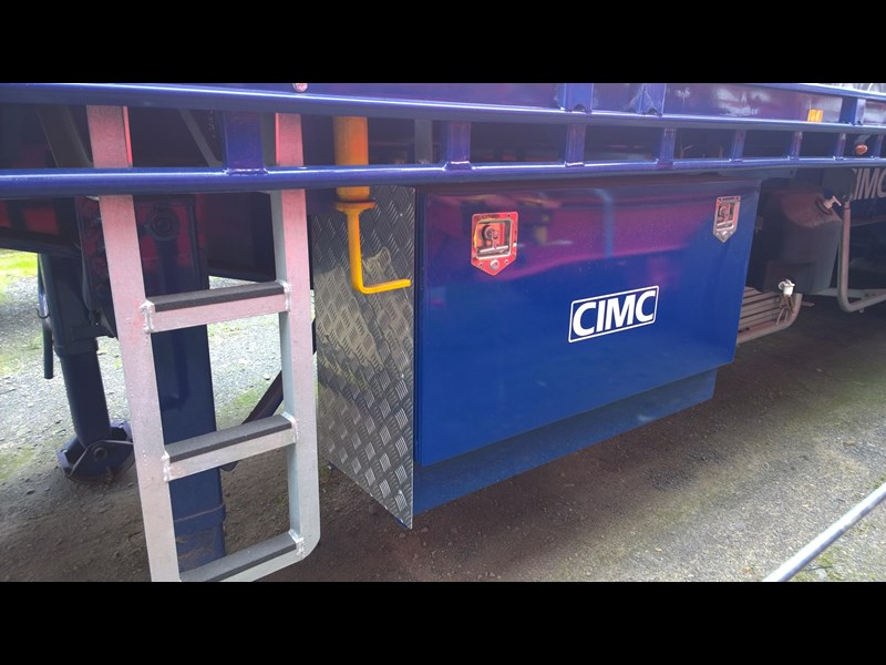 cimc flat deck semi trailer 343611 003