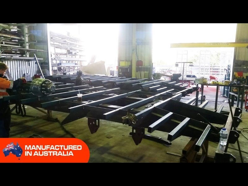 interstate trailers heavy duty 9 ton base line design tag trailers - suit skid steer loaders [attttrail] 344439 004