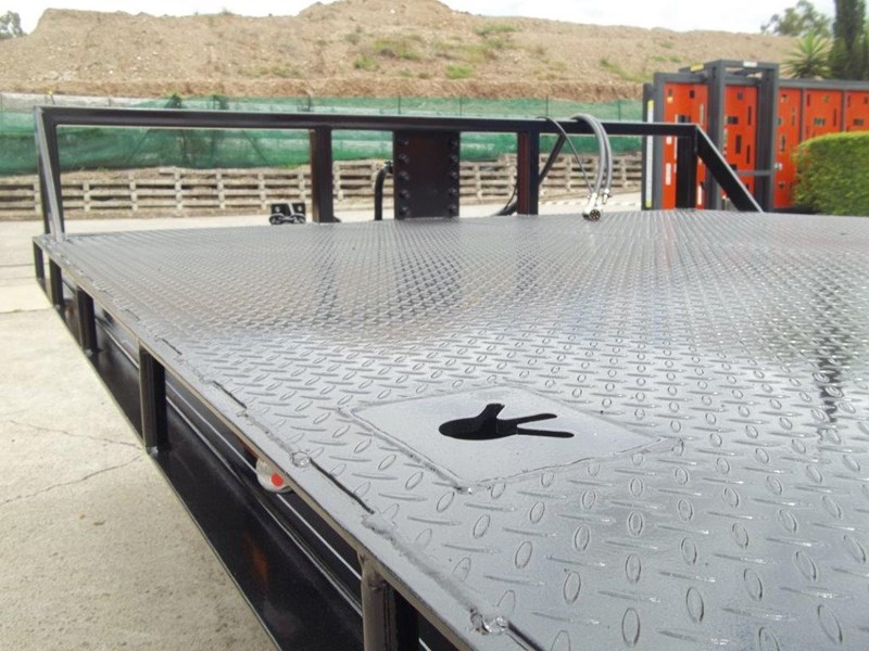 interstate trailers heavy duty 9 ton base line design tag trailers - suit skid steer loaders [attttrail] 344439 016