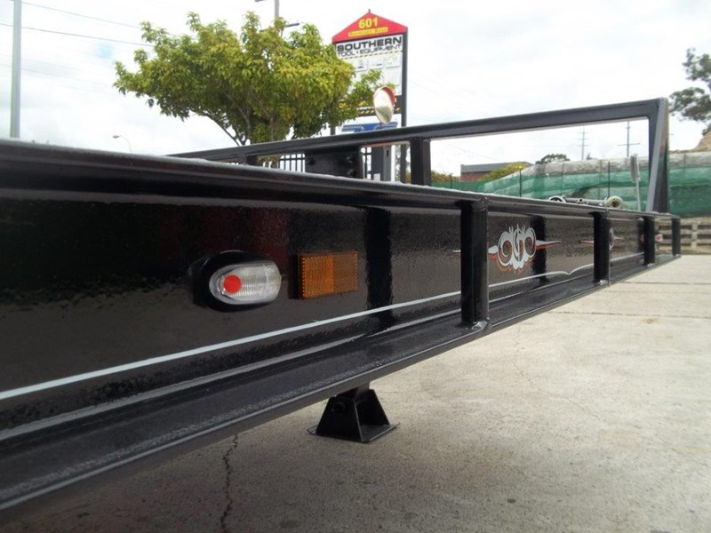 interstate trailers heavy duty 9 ton base line design tag trailers - suit skid steer loaders [attttrail] 344439 019