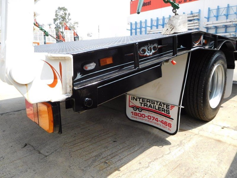 interstate trailers heavy duty 9 ton base line design tag trailers - suit skid steer loaders [attttrail] 344439 026