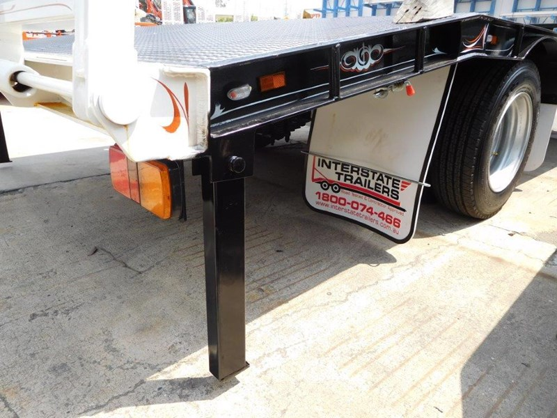 interstate trailers heavy duty 9 ton base line design tag trailers - suit skid steer loaders [attttrail] 344439 027