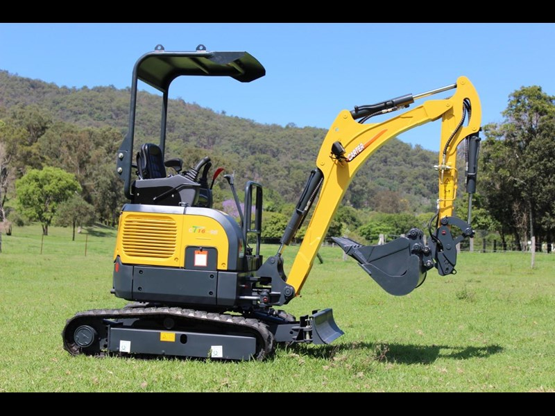 carter ct16 yanmar powered mini excavator zero swing 349469 001