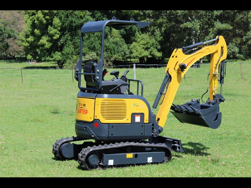 carter ct16 yanmar powered mini excavator zero swing 349469 015