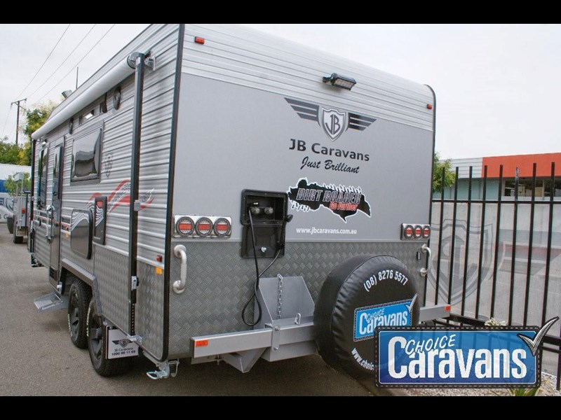 jb caravans dirt roader 20' 351565 007