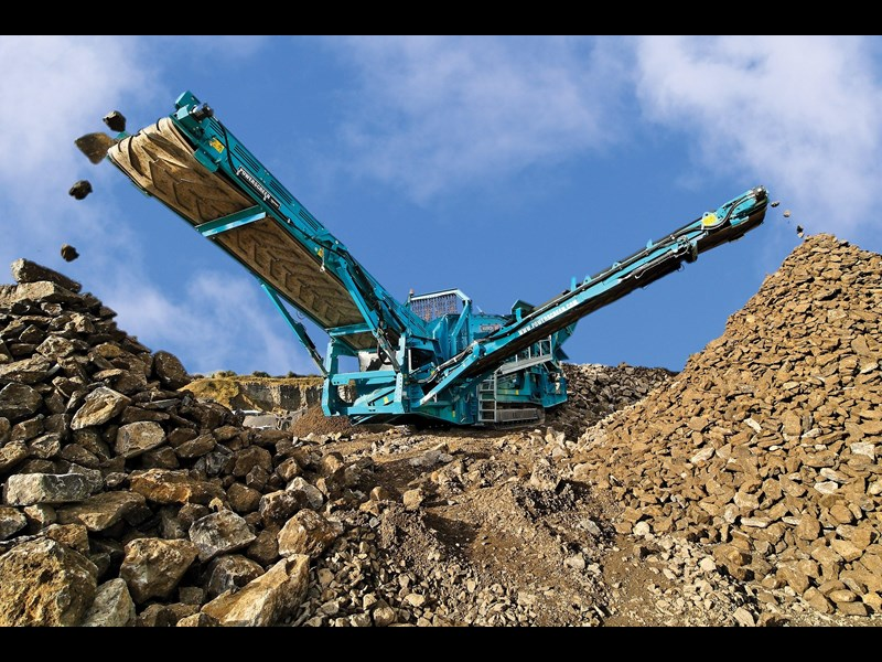 powerscreen warrior 2400 354038 003