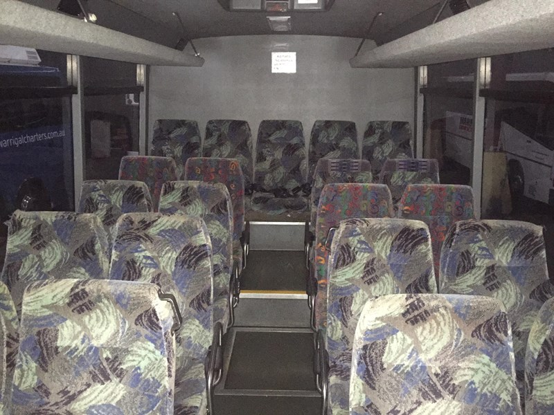 blue bird csre coach, 1998 model 354578 011