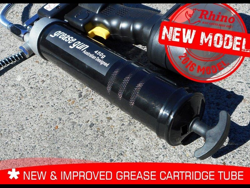 rhino rechargeable - 12v grease gun [tfggun]- [gg06] [pick up] 242946 017
