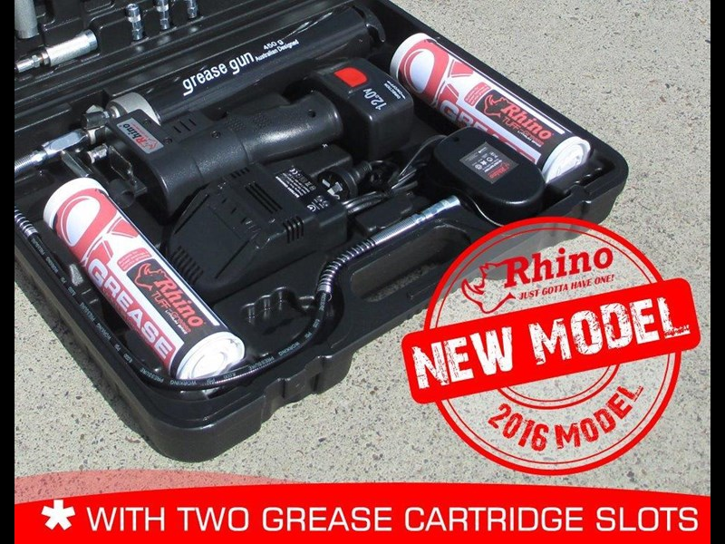 rhino rechargeable - 12v grease gun [tfggun]- [gg06] [pick up] 242946 029