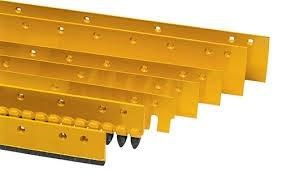 unknown grader blades, single & double bevel edges , end bits etc 320928 001