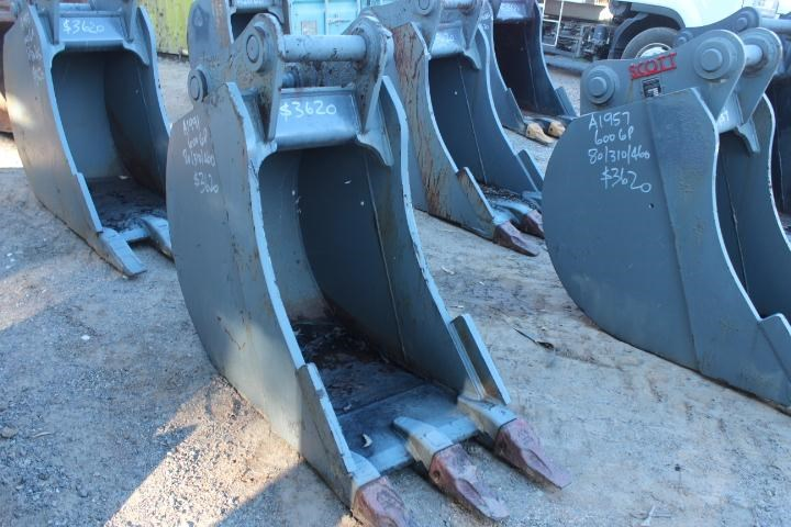 scott 600mm trench bucket suit 20t 355069 003