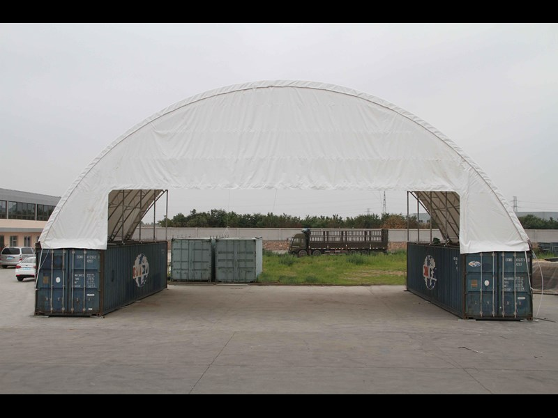 double trussed container shelter c6040d 355786 003