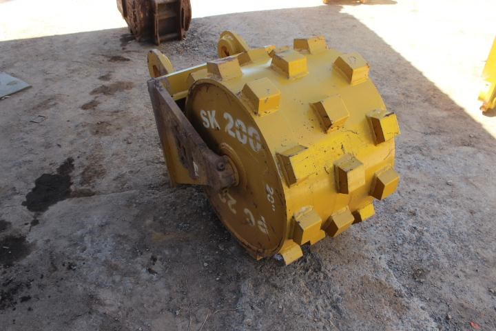 sec compaction wheel suit 20-25 tonne excavator 356969 003